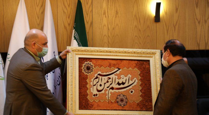 تودیع و معارفه مدیرعامل شرکت فجر جهاد