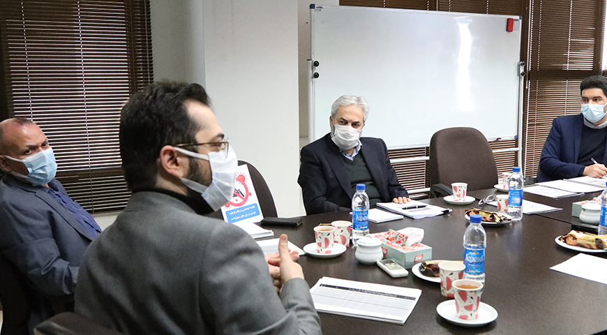 جلسه بررسی و تصویب بودجه سال ۱۴۰۰ شرکت صدرمعادن ایرانیان