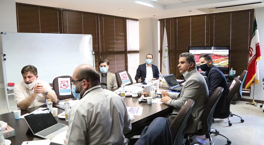 جلسه بررسی و تصویب بودجه سال ۱۴۰۰ شرکت آپاداناسرام