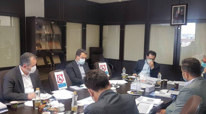 جلسه بررسی و تصویب بودجه سال ۱۴۰۰ شرکت آزاد راه امیرکبیر