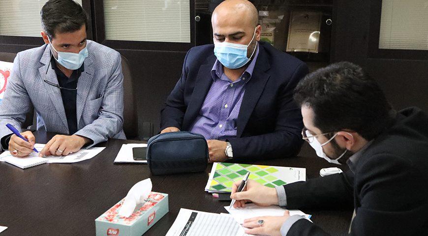 جلسه بررسی و تصویب بودجه سال ۱۴۰۰ شرکت های  پرشین گلف / آرین پارسه / محلات