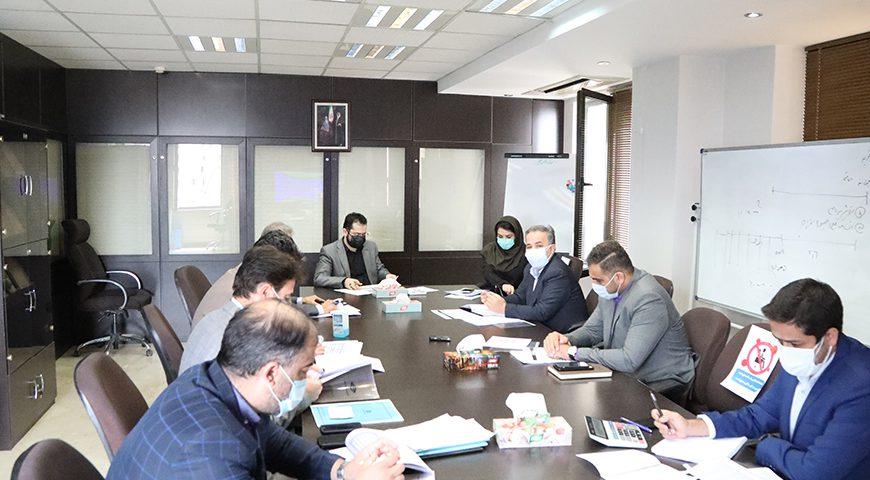 جلسه بررسی و تصویب بودجه سال۱۴۰۰ شرکت حمل و نقل جاده ای فجر جهاد