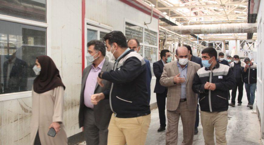 بازدید دکتر حسن تاجیک مدیرعامل هلدینگ آتیه صبا از شرکت آپاداناسرام