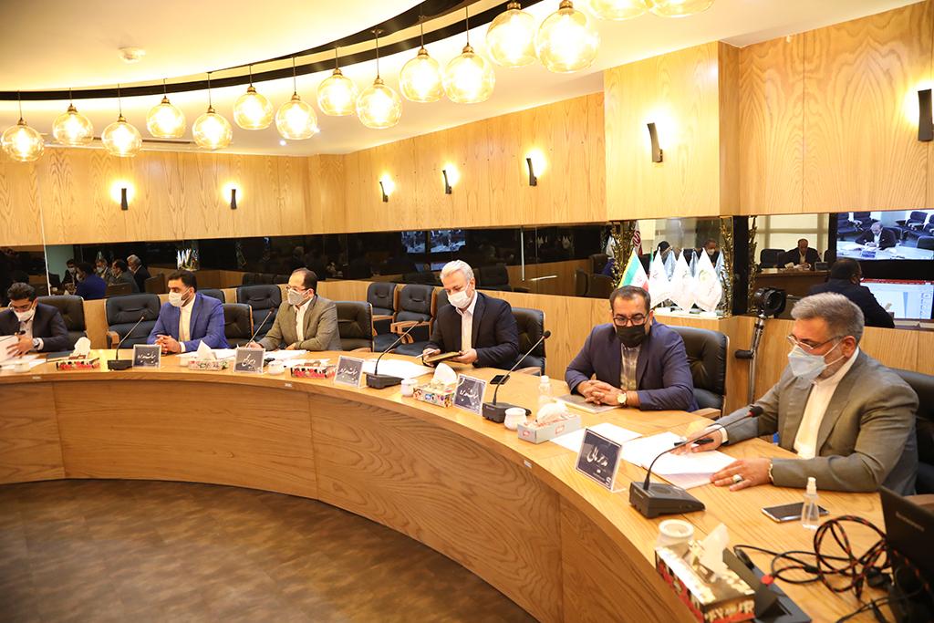 مجمع عمومی عادی سالیانه منتهی به ۳۰ اسفند ماه ۱۳۹۹ شرکت تولیدی تجهیزات ایمنی راهها برگزار شد