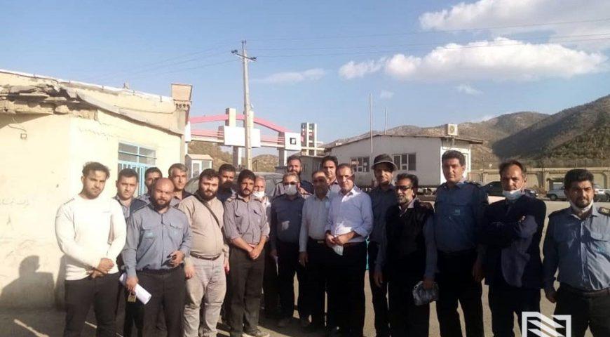 استقرار کامل شرکت انبارهای عمومی و خدمات گمرکی ایران در مرز باشماق
